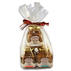 Caramel Trio Gift Set - La Chocolaterie du Vieux Beloeil 3 x 212ml