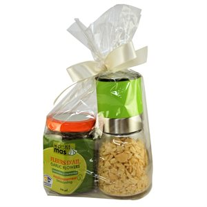 Petit Mas - Garlic Flower & Dehydrated Garlic Gift Set