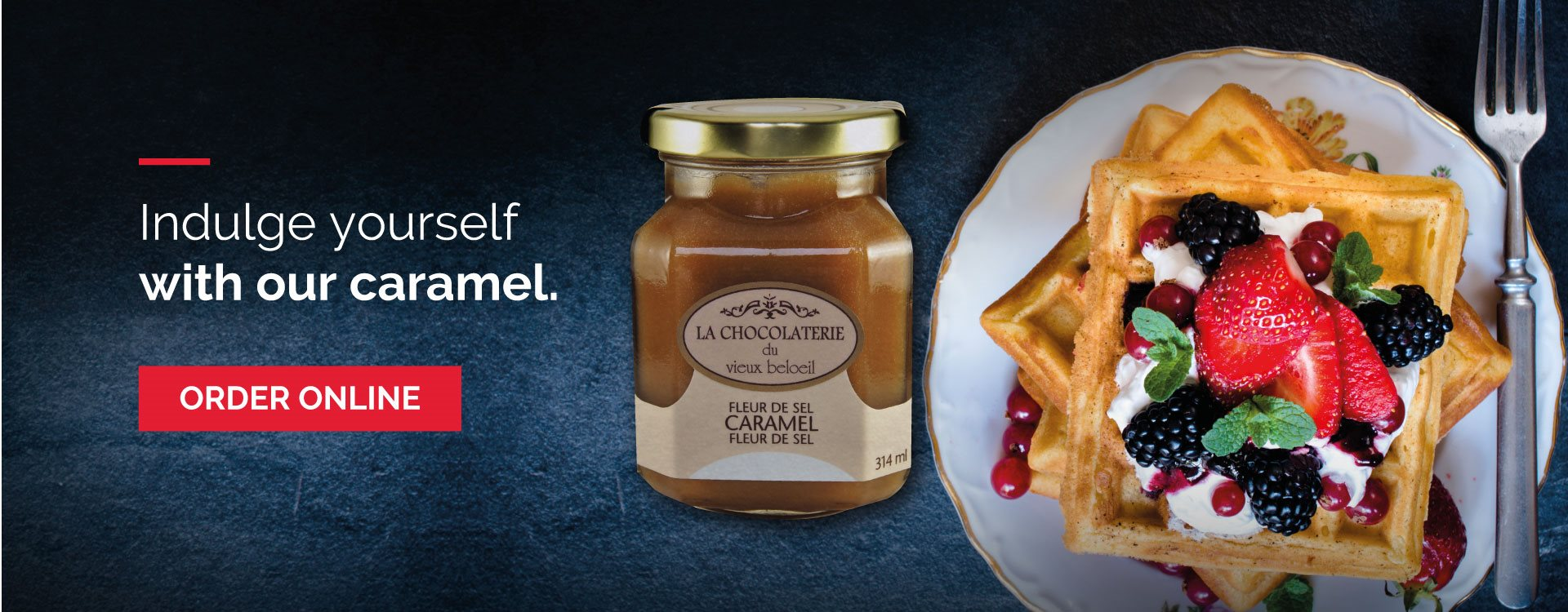Indulge yourself with our caramel
